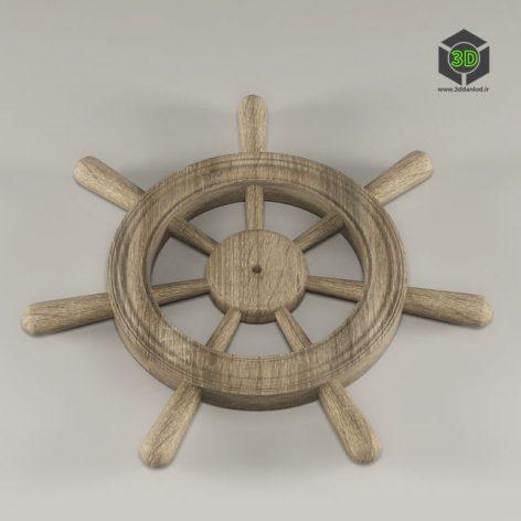 Steering wheel 004 (3ddanlod.ir)