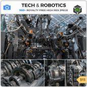 Tech & Robotics cover(3ddanlod.ir)