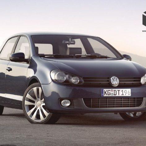 Volkswagen golf 1(3ddanlod.ir)