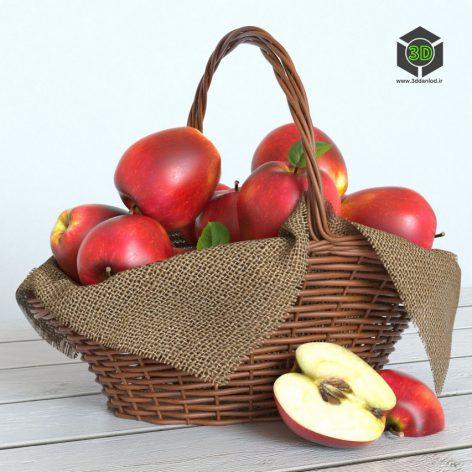 red_apples 002 (3ddanlod.ir)