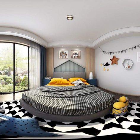 360 Interior Design 2019 Bedroom I146 36 panorama (3ddanlod.ir) 071