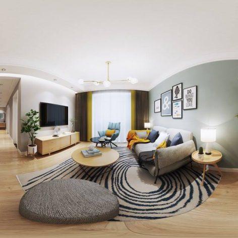 360 Interior Design 2019 Dining Room C09 panorama (3ddanlod.ir) 033