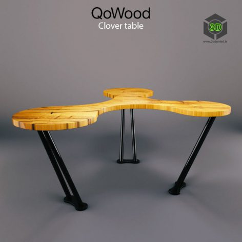 Clover table 206 (3ddanlod.ir)