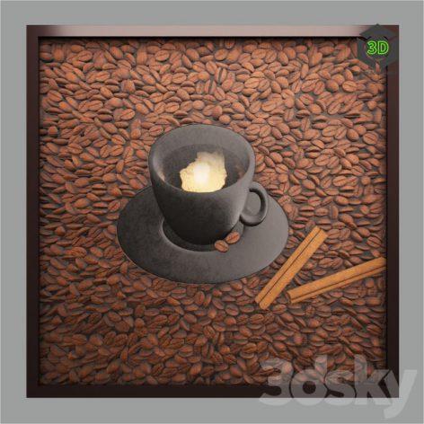 Coffee Panel 068 (3ddanlod.ir)