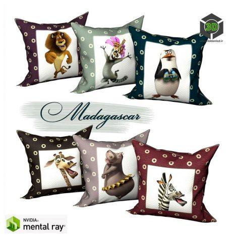 Decorative pillows 179 (3ddanlod.ir)