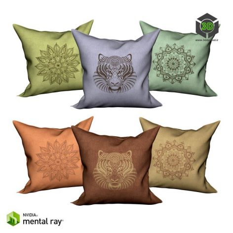 Decorative pillows 3 157 (3ddanlod.ir)