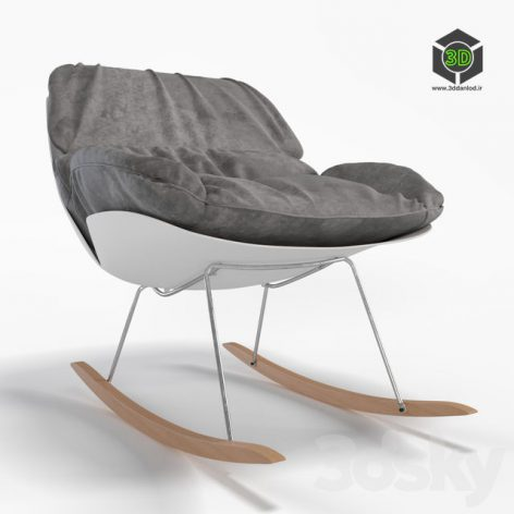 Francesco Bellini Bay Rocking Chair 020 (3ddanlod.ir)