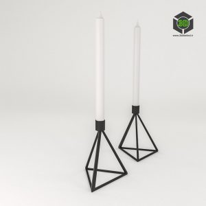 HM Triangle Candlestick 283 (3ddanlod.ir)