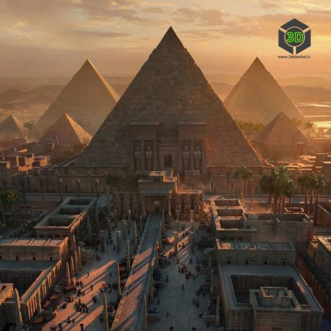 Kitbash3D-Egypt 007(3ddanlod.ir)