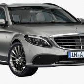 Mercedes-Benz C-Class 2019 3D Model(3ddanlod.ir)