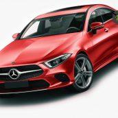 Mercedes-Benz CLS 2018 3D model(3ddanlod.ir)