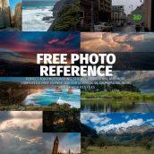 Noah Bradley's Free Photo Reference Megapack