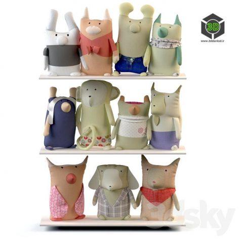 Textile Toys Quot Zoo Quot(3ddanlod.ir) 212
