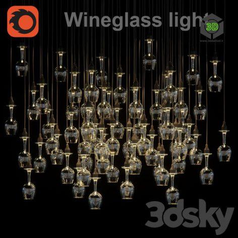 Wineglass Light(3ddanlod.ir) 443