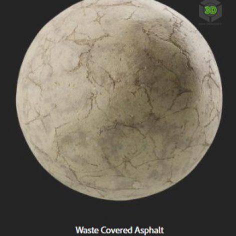 waste_covered_asphalt (3ddanlod.ir)