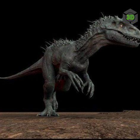 Indominus rex _2 3D Model (3ddanlod.ir)