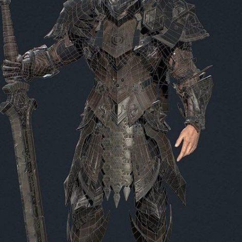 Khalkhna Knight 3D Model (3ddanlod.ir)