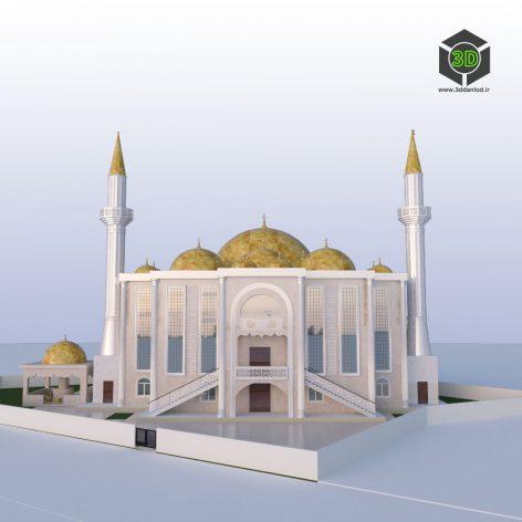Mosque Мечеть Cami Jame 199 (3ddanlod.ir)