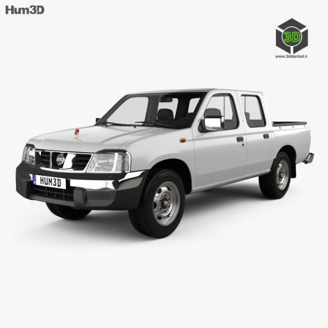 Nissan Ddsen 2015 3D Model(3ddanlod.ir)
