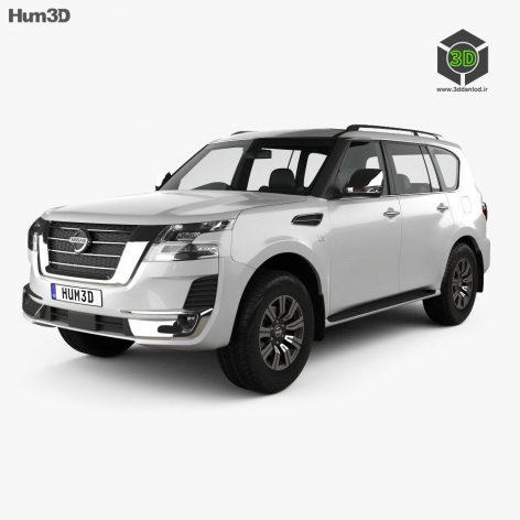 Nissan Patrol Ti L 2020 3D model (3ddanlod.ir)