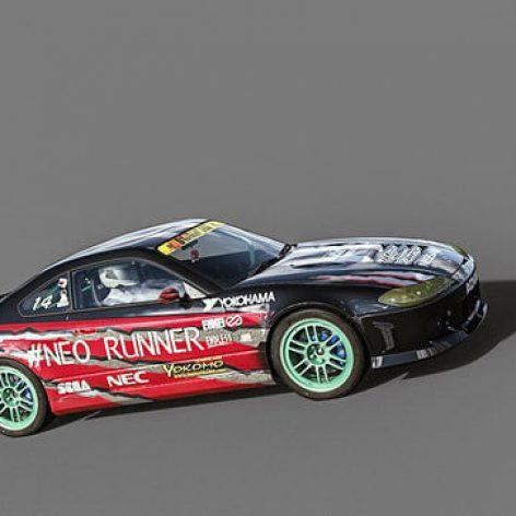 Nissan Silvia Neo Runner 3D Model(3ddanlod.ir)