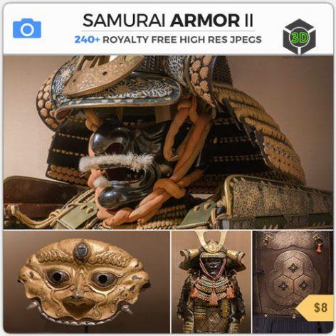 PHOTOBASH - Samurai Armor II.008 cover (3ddanlod.ir)