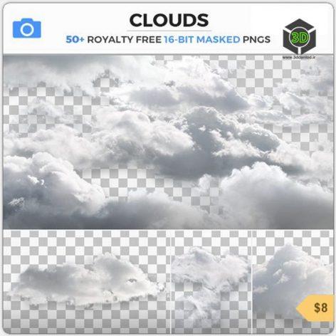 Photobash - Clouds 001(3ddanlod.ir)