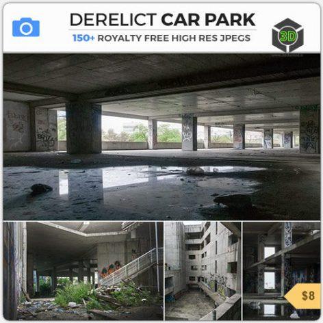 Photobash - Derelict Car Park 007 cover (3ddanlod.ir)